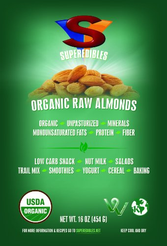Organic Raw Almonds Unpasteurized Truly product image
