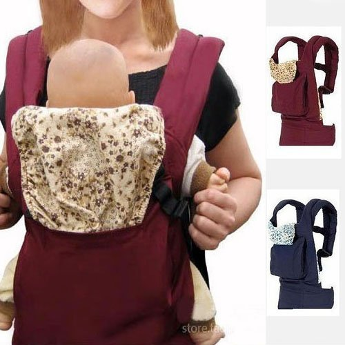 52897f4a5a7 BBCL296 New Red Front Back Baby Safety Carrier Infant Comfort Backpack Sling  Wrap Harness