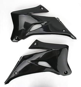 UFO plásticos Ya04847 – 001 radiador fundas – negro