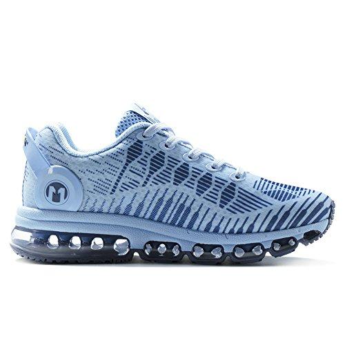 Onemix Womens Air Running Shoes Sneakers Casual Da Ginnastica Blu Chiaro