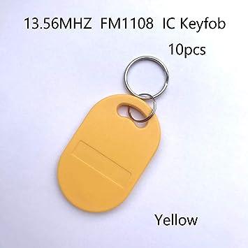 Llaves RFID de10x13.56 MHz,Fob a Prueba de Agua ABS.MF ...