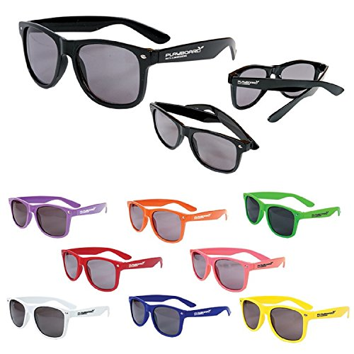 100 Custom Glossy Sunglasses Imprinted with Your Logo or - With Promotional Sunglasses Imprinted Logo