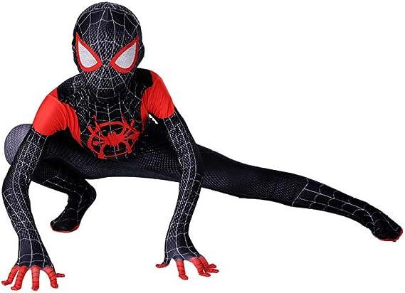 KOUYNHK Lycra Spandex para Niños Traje Negro De Spiderman Niños ...