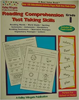 Reading Comprehension Test Taking Skills Grade 1 Paperback Teachers Edition August 1 2002