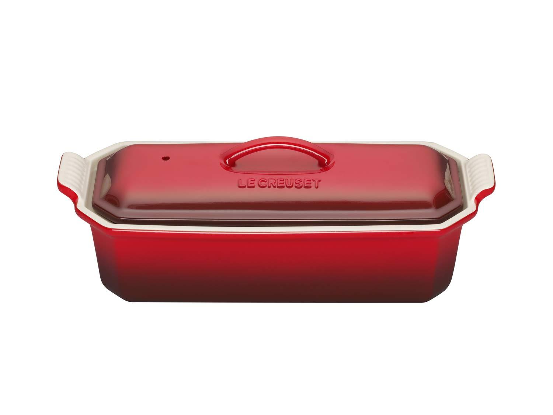 32 cm-Cerise Stoneware Le Creuset 71013140600000 Foie Gras Terrine Dish