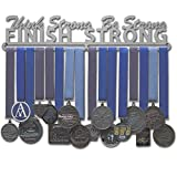 Allied Medal Hangers Think Strong, Be Strong, Finish Strong (18' Wide with 1 Hang bar)