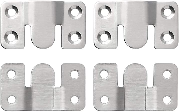 Sayayo Furniture Interlock Style Sectional Sofa Connectors Bracket Mural Paintings Hooks Stainless Steel Brushed Finished 4 Pcs Amazon Ca Tools Home Improvement