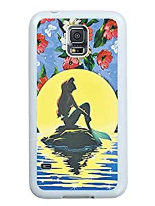 Best Buy The Little Mermaid White Phone Case For Samsung Galaxy S5 I9600 Cover Case