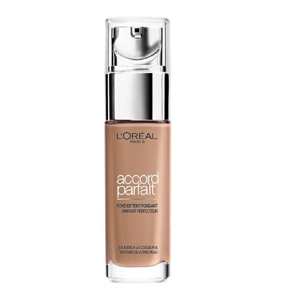 L'Oréal Paris Make Up Designer - Accord Parfait Fond de Teint Fluide Unifiant Sable Neutre (5.N) 30ml L' Oréal Paris