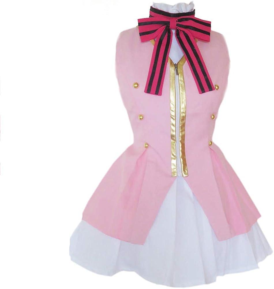 Love Live! Start Dash!!Kousaka Honoka Pink Lolita Dress Cosplay Costume