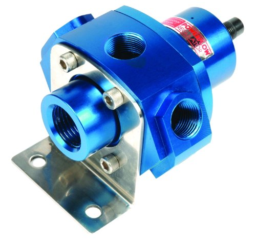 Professional Products 10658 Blue 5-Port Carburetor Fuel Regulator with Return Line