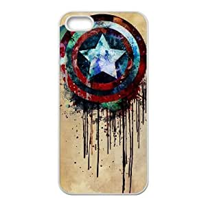 WEUKK Captain America iPhone 5,5S,5G shell case, custom phone case for iPhone 5,5S,5G Captain America, custom Captain America cover case