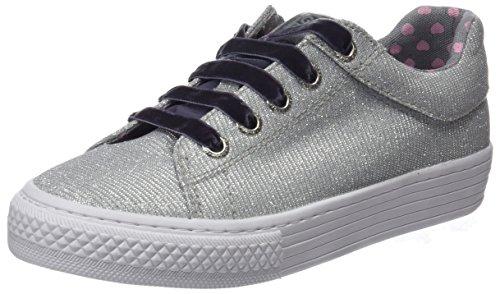 Gioseppo 43946, Zapatillas Para Niñas Plateado (Silver)