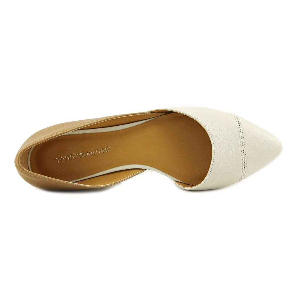 86cf9ae0a Amazon.com  Tommy Hilfiger Womens Naria 2 Leather Pointed Toe Ballet ...