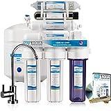 NU Aqua Platinum Series 100GPD Under Sink Reverse Osmosis Drinking Water Filtration System – Premium Water Filter (7 Stage UV and Alkaline)
