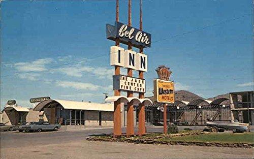 Bel Air Inn, Restaurant, Lounge & Jade Center Rawlins, Wyoming Original Vintage - Centre Bel