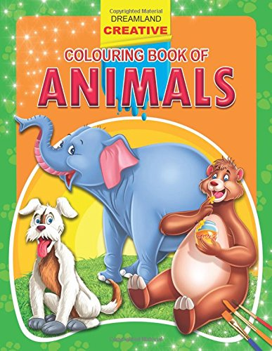 Animals (Creative Colouring Books)