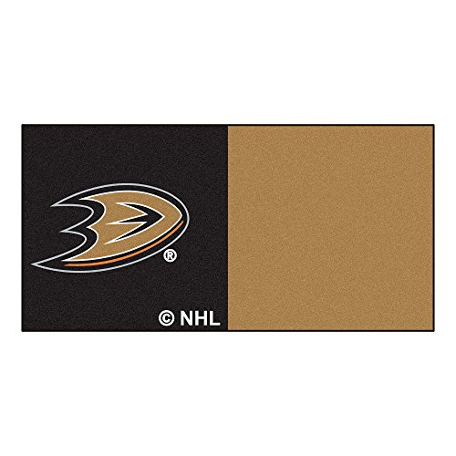 FANMATS NHL Anaheim Ducks Nylon Face Team Carpet Tiles by Fanmats