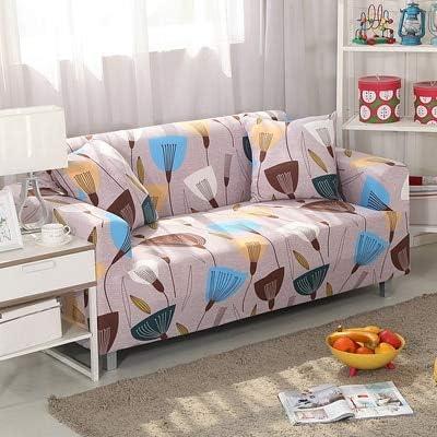 ASCV Conjuntos de sofás de Tela elástica Funda de sofá Universal con Todo Incluido Toalla de Cubierta Cojín de sofá de Cuero de Verano Europeo A6 3 plazas