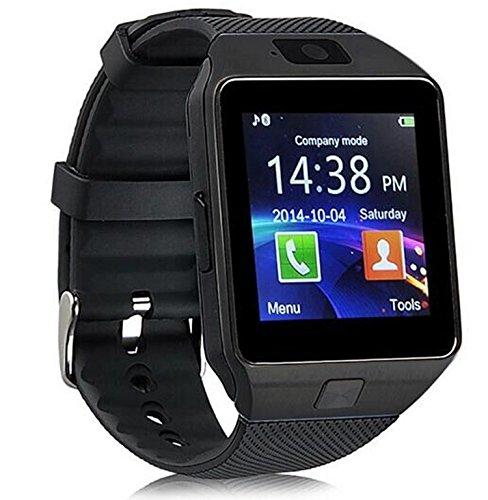 Bluetooth DZ09 reloj inteligente para Android HTC Samsung Iphone IOS cámara SIM ranura.: Amazon.es: Electrónica