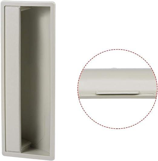sourcing map Manijas de puerta empotradas para gabinetes, tirador encastrado a presión 110mm x 40mm x 20mm 2 piezas: Amazon.es: Bricolaje y herramientas