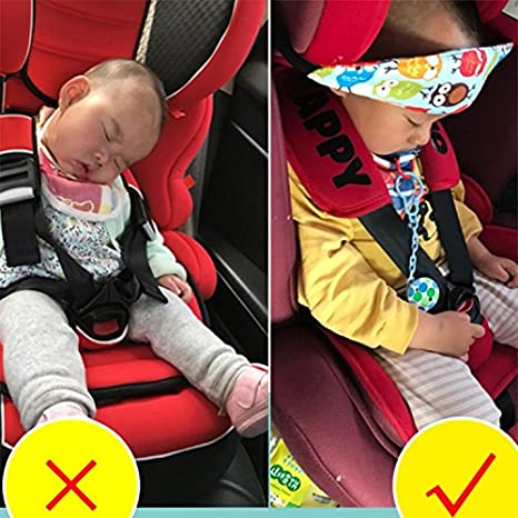 Baby Head Support For Car Seat Toddler Pillow Child Safety Neck Relief Offers Protection And