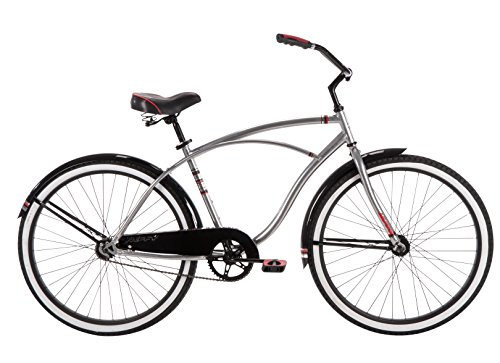 Huffy Bicycle Company Men's Good Vibrations Cruiser Bike, 26