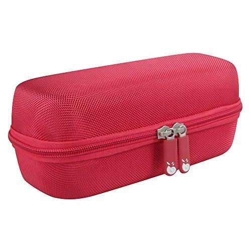 Hermitshell Hard EVA Travel Red Case Fits Sony XB20 / SRS-XB21 Portable Wireless Speaker Bluetooth