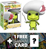 Touche Turtle: Funko POP! x Hanna-Barbera Vinyl Figure + 1 FREE American Cartoon Themed Trading Card Bundle (118521)