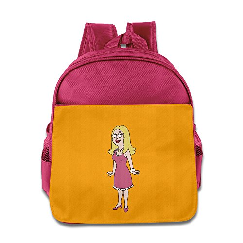 American Dad Francine Kids Backpack School Bag For Boys/girls Pink
