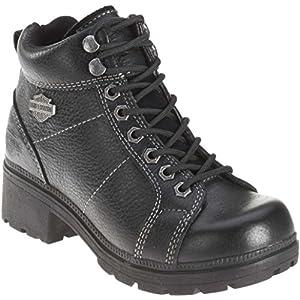 "Harley-Davidson Women's Tyler 6"" Boot,Black,8.5 M"