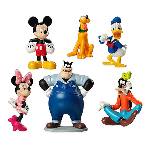 Mickey Mouse Clubhouse Characters Cake Toppers