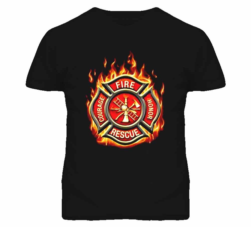 Tshirt Bandits S Classic Fire Rescue T Shirt