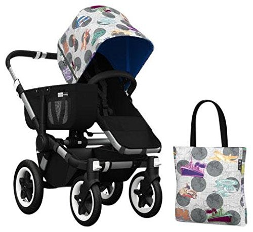 Bugaboo Donkey Accessory Pack - Andy Warhol Transport/Royal Blue (Special Edition) by Bugaboo