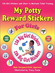 My Potty Reward Stickers for Girls: 126 Girl Stickers and Chart to Motivate Toilet Training