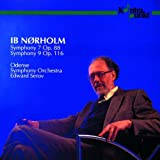Ib Norholm: Symphonies Nos. 7 & 9 by Edward Serov Odense Symphony Orchestra (1993-09-18)