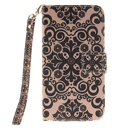 Cover Sunroyal®3 in 1Wallet para LG G3 Funda de PU Leather Cuero Suave Carcasa,Libro Ultra Slim Delgado Flip PU Cuero Cover Case con Interiores Slip Cierre Magnético Stand Función para Tarjetas para L Size02