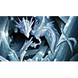 MTG Playmat Artists of Magic Premium - CRYSTAL SLIVERS Autographed by the Artist ROBERT BERMEA