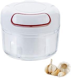 Micsus Mini Pull String Garlic Onion Ginger Chili Chopper/Manual Food Processor