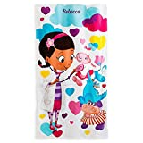 Disney Store Doc McStuffins Lambie Stuffy Hallie Girls Beach Bath Towel NEW