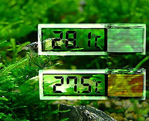 Hot Sale! Plastic Metal 3D Digital Electronic Aquarium Thermometer Fish Tank Temp (Rite Temp Digital Thermostat)
