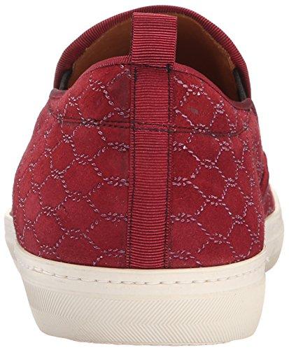 Mezlan Heren Moneo Fashion Sneaker Bordeauxrood