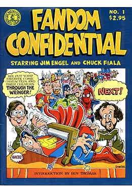 Amazon.com: Fandom Confidential #1 FN ; Kitchen Sink comic book ...