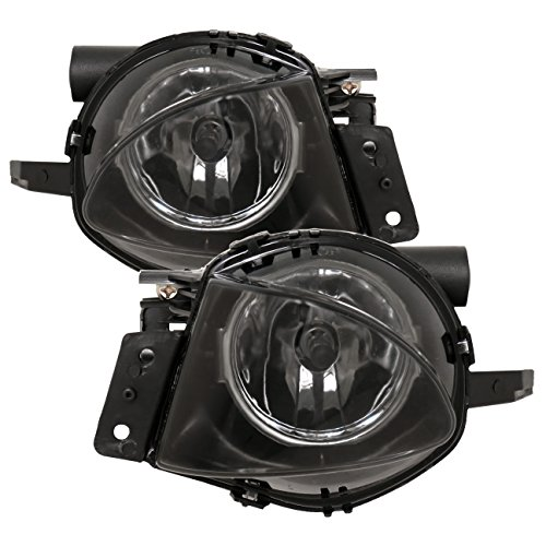 AJP Distributors BMW E90 3 Series 325I 328I 335I Sedan 4 Door Front Driving Bumper Fog Lights Lamps Upgrade Replacement Euro 2006 2007 2008 06 07 08 (Smoke)