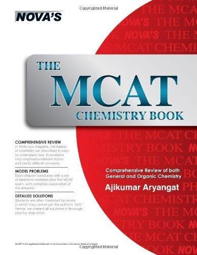The MCAT Chemistry Book by Ajikumar Aryangat (2006-02-17) Paperback