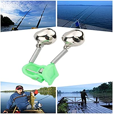 Amazon.com: BB Hapeayou – Campanas de pesca, 20 unidades de ...