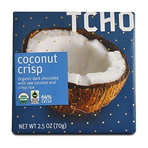 Choc Coconut (Tcho Chocolate Choc,Coconut Crisp,Og2 2.5 Oz (Pack Of 12))