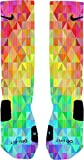 Prism Custom Nike Elite Socks (Small 4-6)