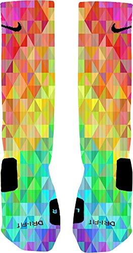 Prism Custom Nike Elite Socks (Large 8-12)