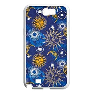 Sun Moon Pattern Classic Personalized Phone Case for Samsung Galaxy Note 2 N7100,custom cover case ygtg542781